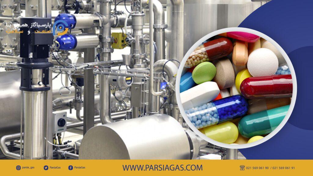 کاربرد گازها در صنعت داروسازی